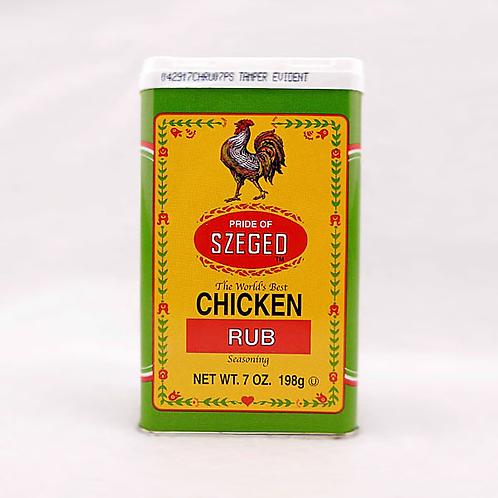 Szeged Chicken Rub 5oz. Tin