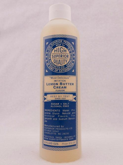 Superior Lemon Butter Cream 8oz.