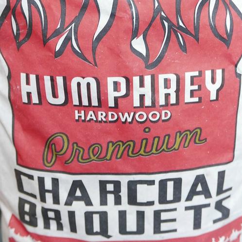 Humphrey Charcoal Briquets 20lb. Bag