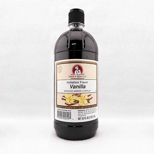 Vanilla Flavor Imitation 32oz.