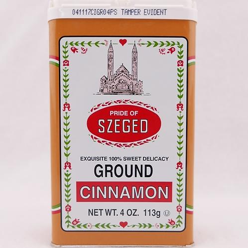 Szeged Ground Cinnamon 4oz. Tin