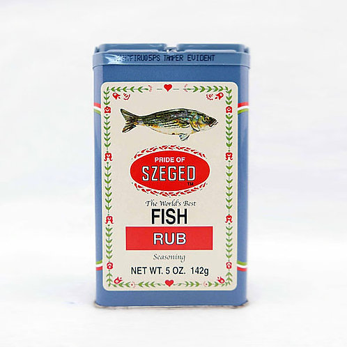 Szeged Fish Rub 5oz. Tin