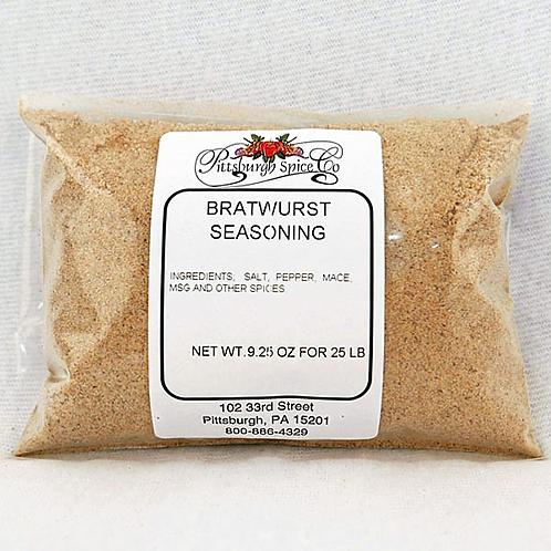 Bratwurst Seasoning 9.25oz.