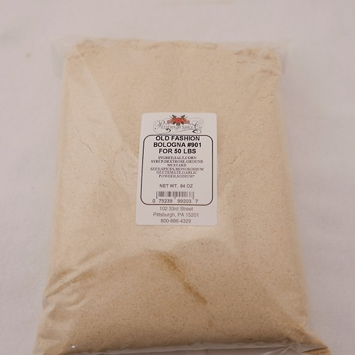 Old Fashioned Bologna Seasoning #901 - 64oz.
