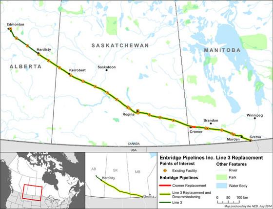 Enbridge Line 3 Replacement Program - In Progress