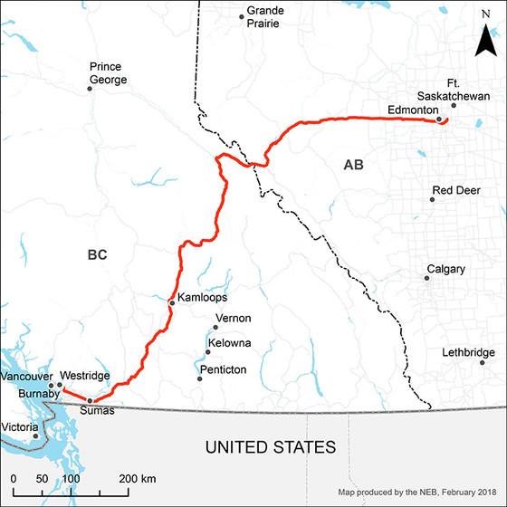 Trans Mountain Pipeline - In Progress
