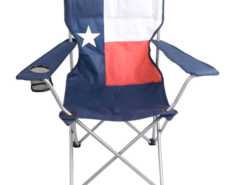 Texas Flag Folding Chair