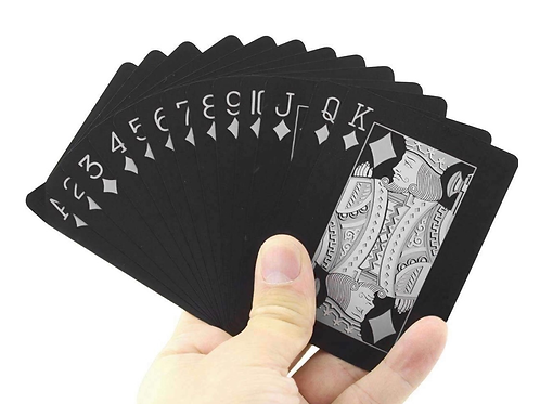 Black Edition Waterproof Card Deck