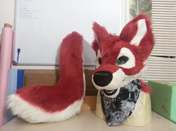 Rakera Red Wolf Partial