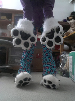 Handpaws and Sockpaws Set