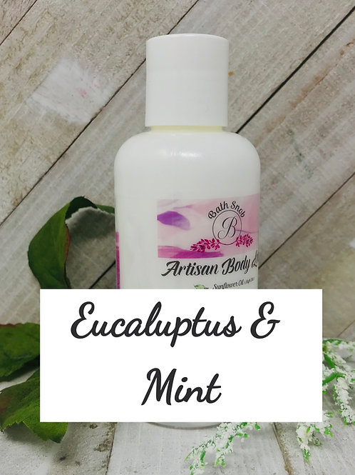 Lotion - Eucalyptus and Mint