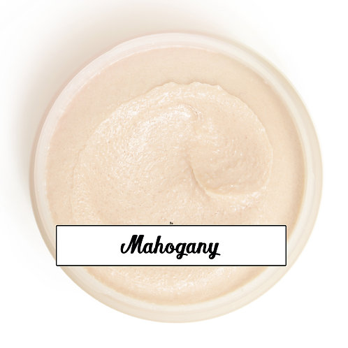 Sugar Scrub = Mahogany