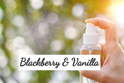 Body Spray - Blackberry and Vanilla