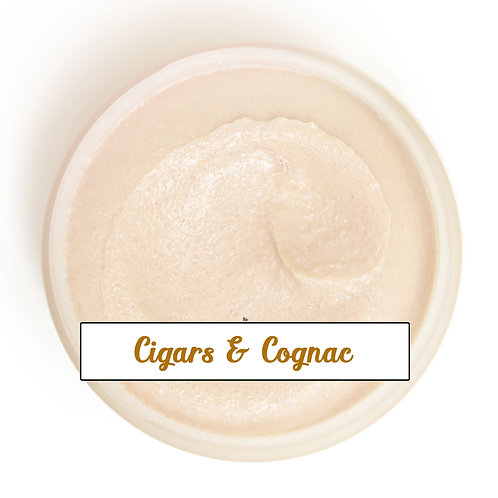 Sugar Scrub - Cigars and Cognac