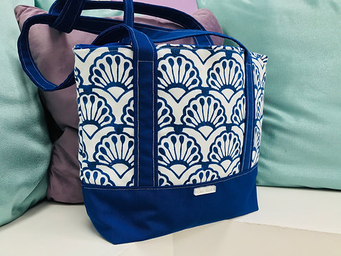 Tote Bag: Blue by the Sea