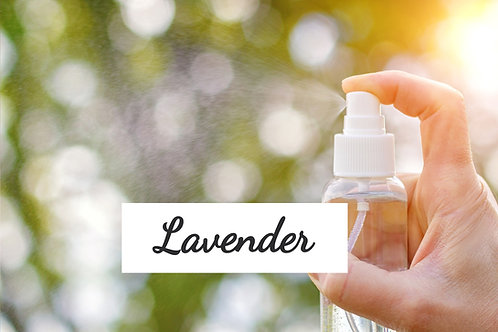 Body Spray - Lavender Essential Oil