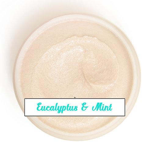 Sugar Scrub - Eucalyptus and Mint