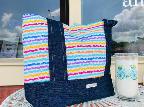 Tote Bag: Color Lines