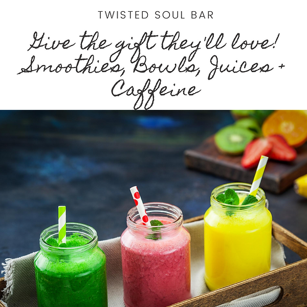 Twisted Soul Bar Gift Certificate July 2