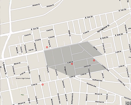 Huffman church map.jpg