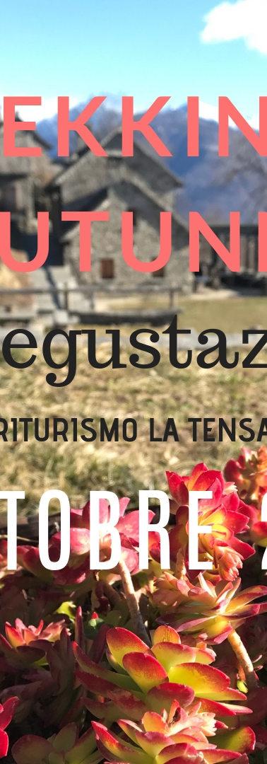 TREKKING D'AUTUNNO CON DEGUSTAZIONE