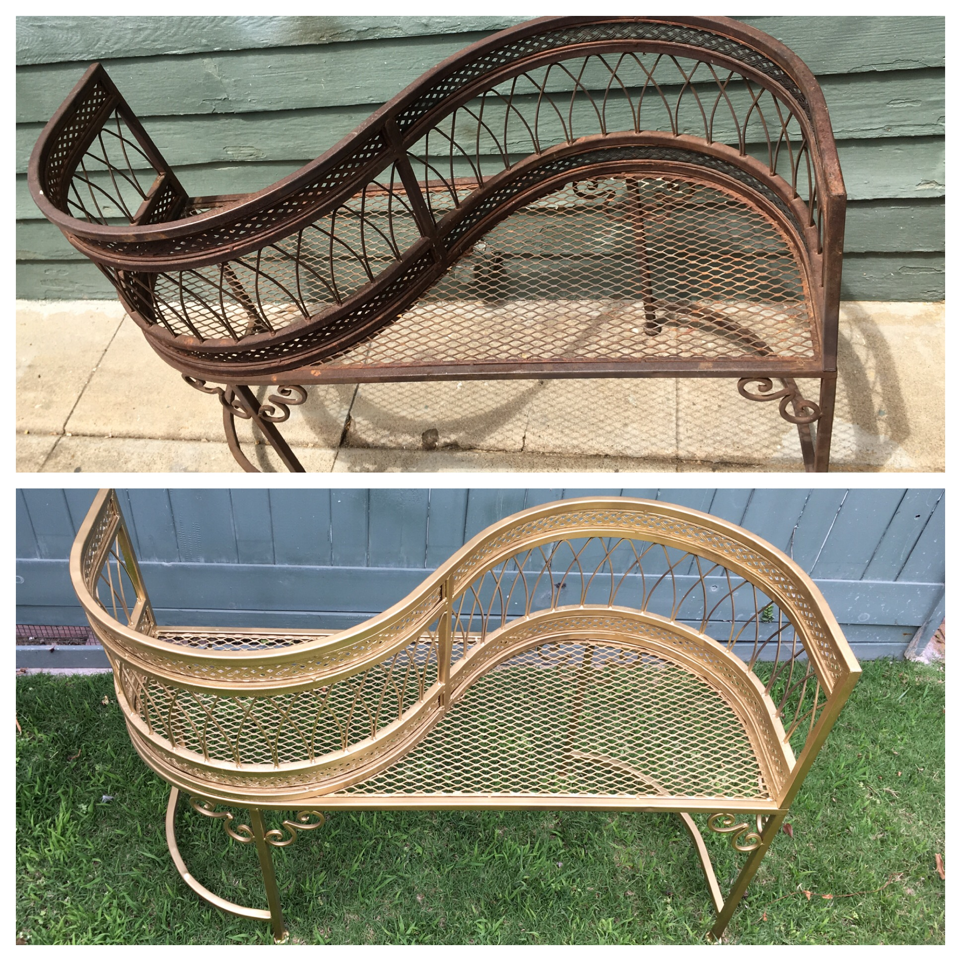 Before and After - Love Seat