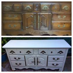 Before & After- Dresser