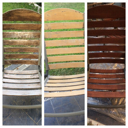 Before & After- Patio chairs