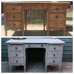 Before and After - Desk