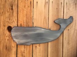 Handmade whale