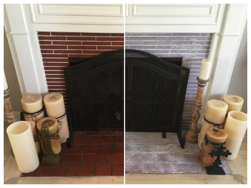 Before and After - Fireplace