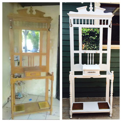 Before & After- Coat rack