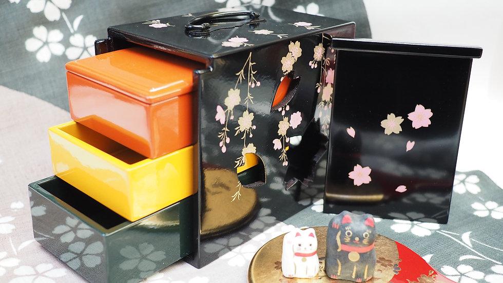 枝垂れ桜(黒)
