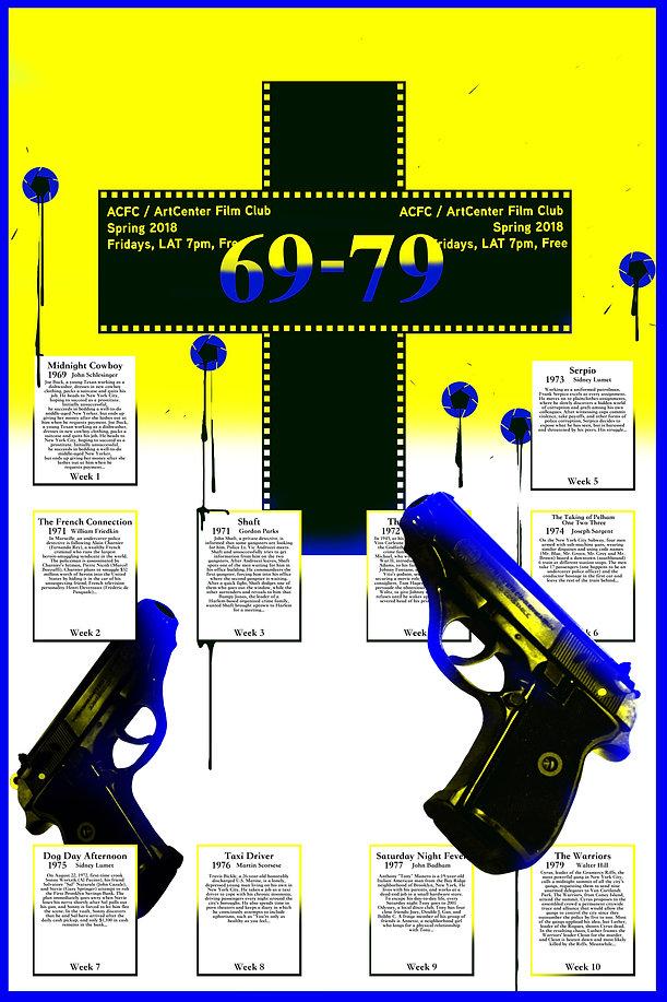 dayday key, ACCD movie club poster