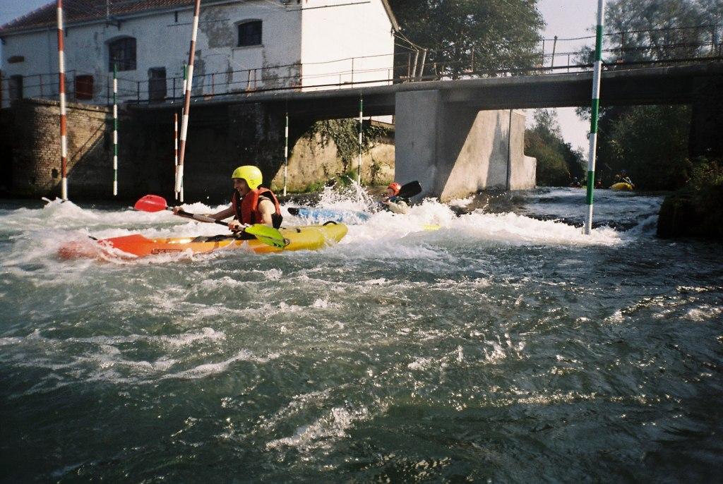 kayak sur la canche