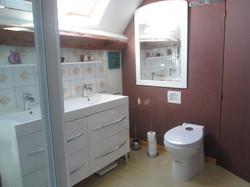 Salle de bain WC gîte Marilou
