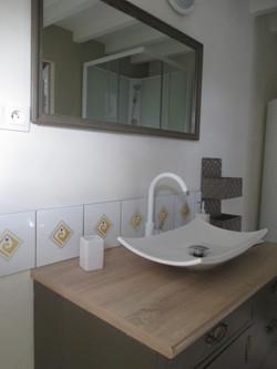salle de douche WC gîte Elisa