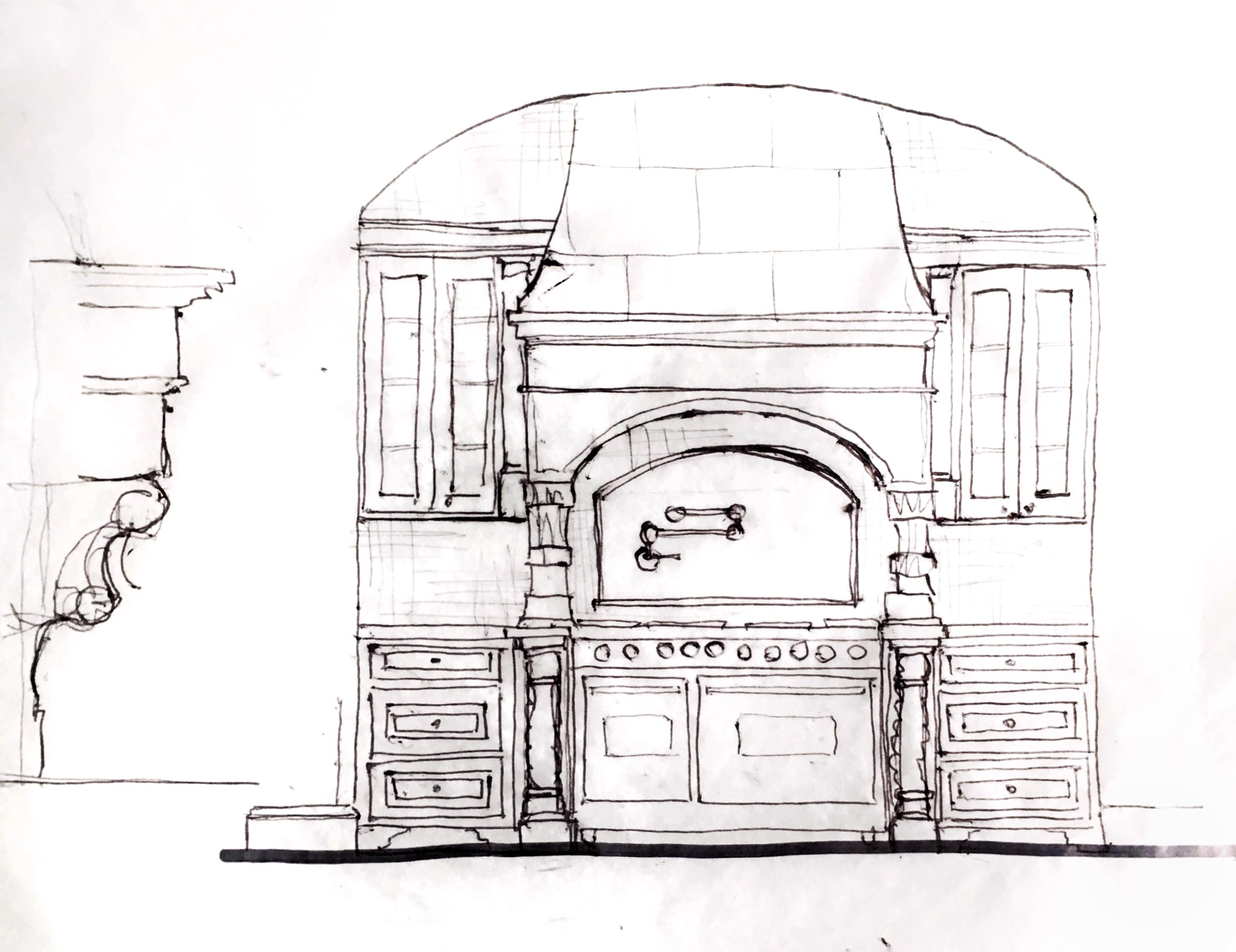 kitchen pen rendering