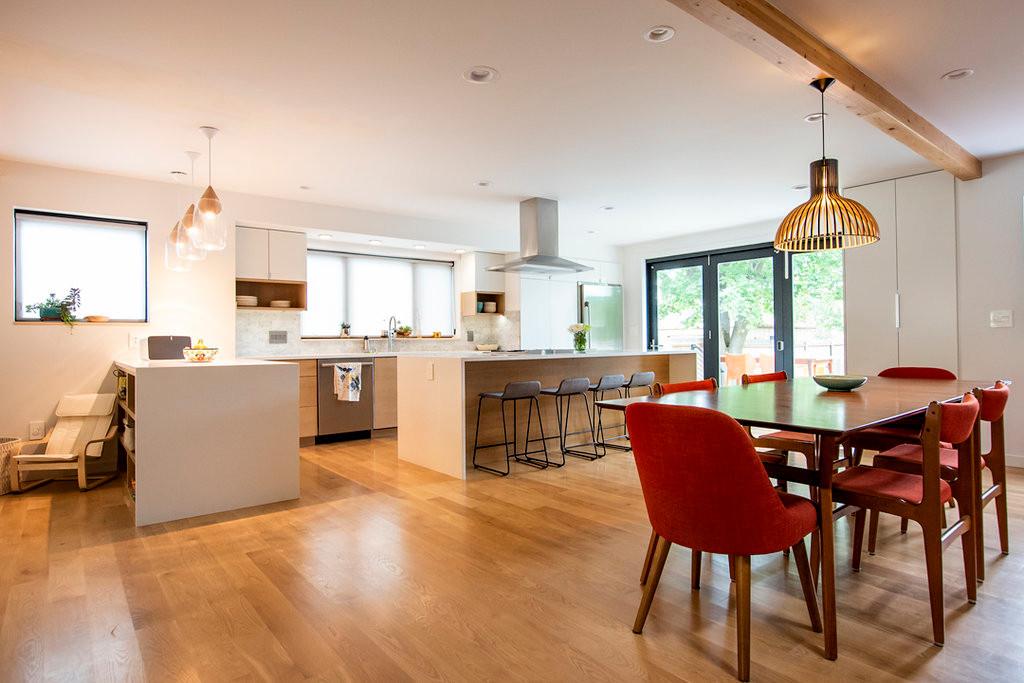 Modern home remodel Open kitchen design