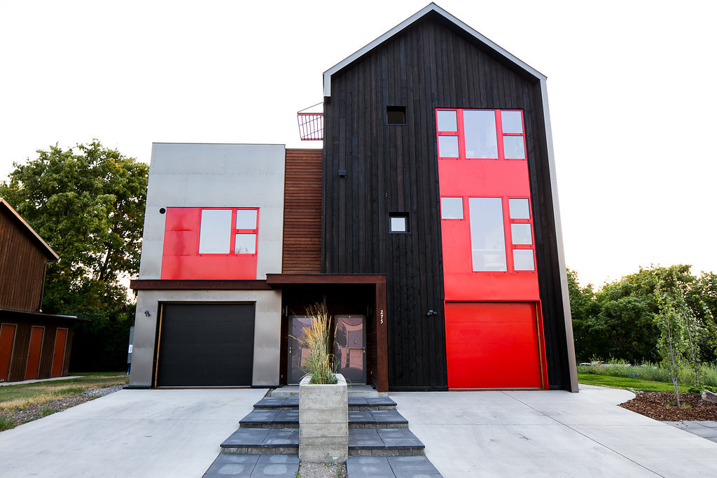 Modern home design and build in Missoula