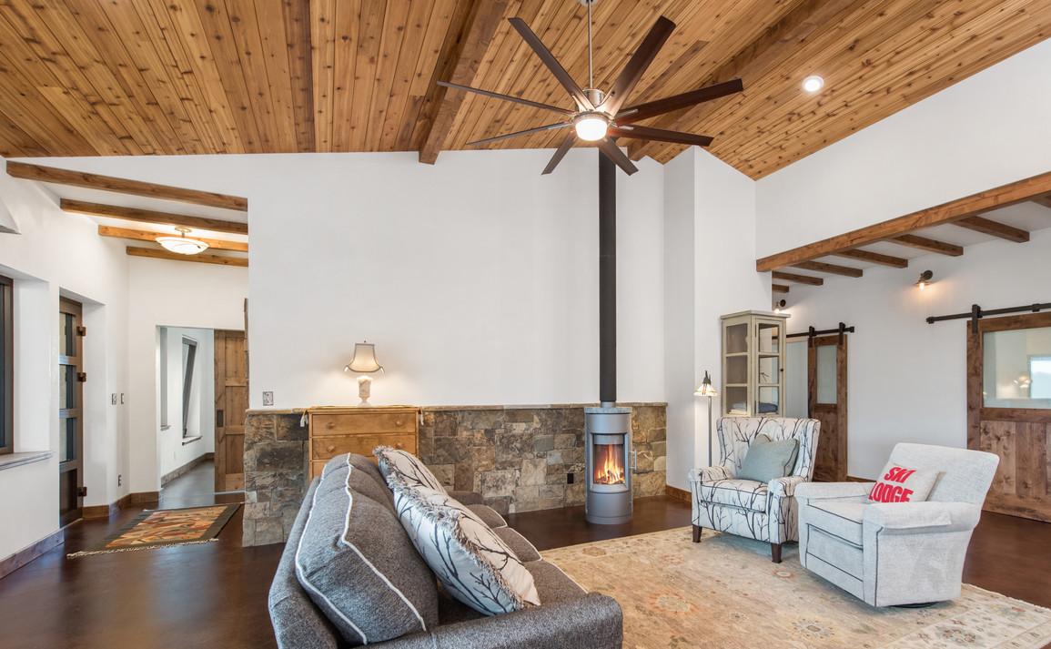off-grid house design + greenhouse Teton
