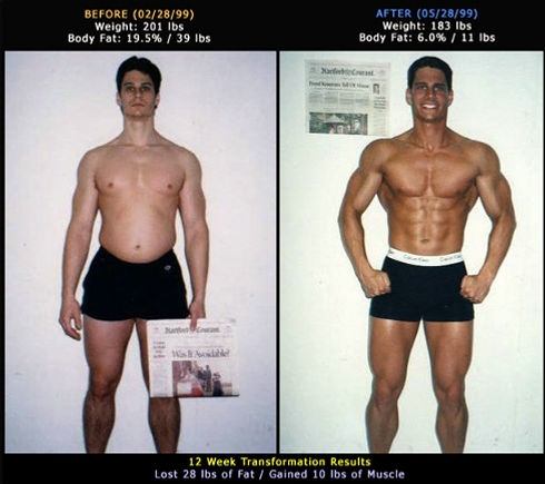 Brian Tully Body For Life Transformation