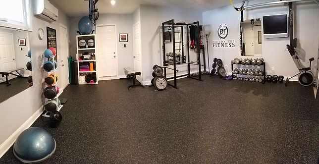 Better Together Fitness Private Personal Trainer Studio Picture in Leland