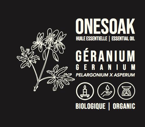 Géranium | Biologique