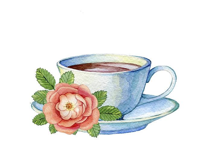 Fragrance naturelle   Thé de roses