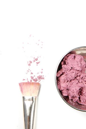 Masque mousse pour le visage à la rose