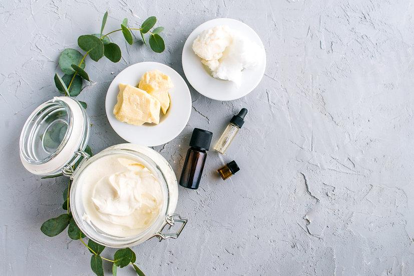 Création de crèmes et lotions