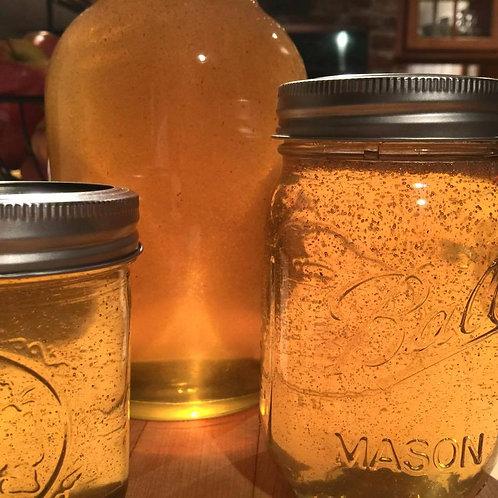 Raw Unpasteurized Pure Local Honey - quart  (net wt. 3.0 lbs.)