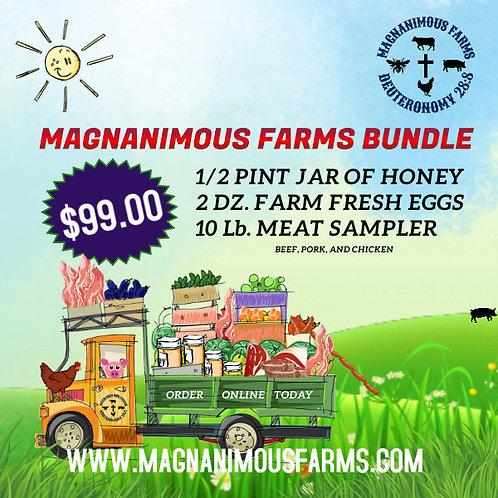 MAGNANIMOUS FARMS $99.00 BUNDLE