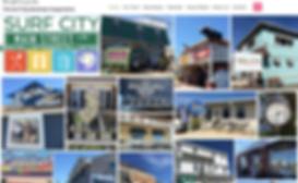 Surf City Business CoOp homepage by Kara Tomko